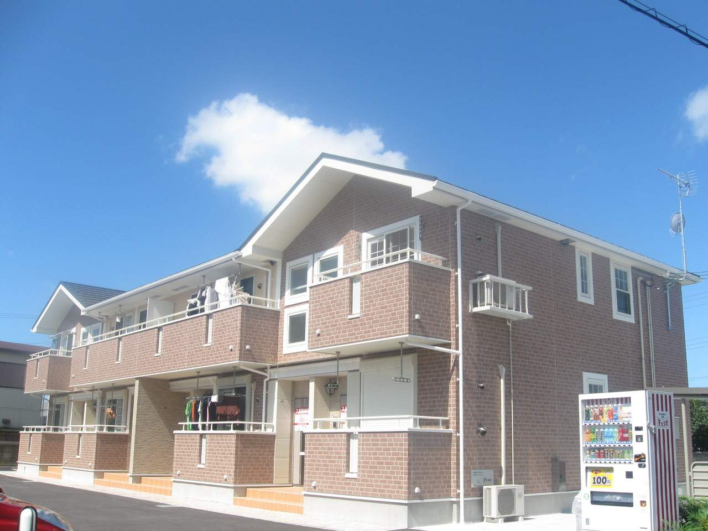 兵庫県三木市、志染駅徒歩17分の築7年 2階建の賃貸アパート