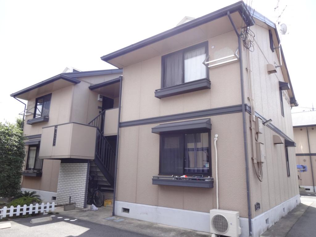 奈良県橿原市、新ノ口駅徒歩10分の築21年 2階建の賃貸アパート