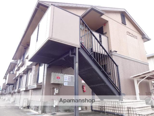 奈良県橿原市、八木西口駅徒歩20分の築21年 2階建の賃貸アパート