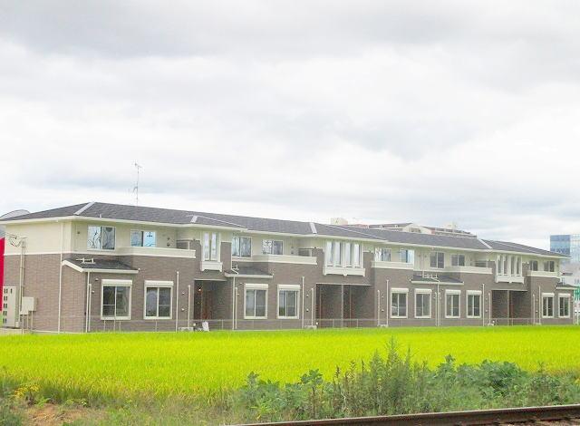 奈良県橿原市、新ノ口駅徒歩13分の築2年 2階建の賃貸アパート