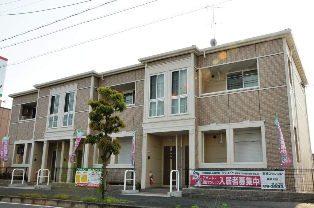 奈良県橿原市、新ノ口駅徒歩15分の築5年 2階建の賃貸アパート