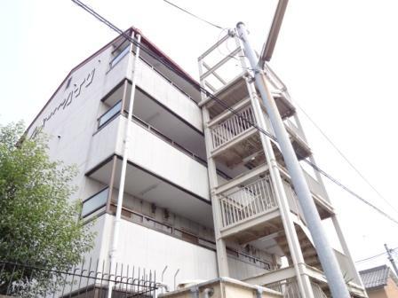 奈良県橿原市、大和八木駅徒歩3分の築21年 4階建の賃貸マンション