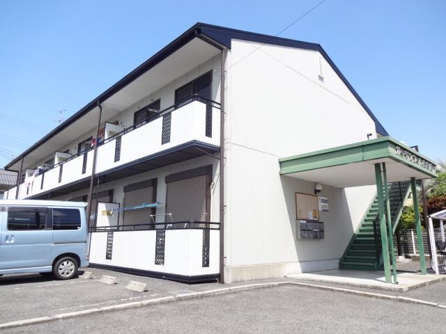 奈良県橿原市、大和八木駅徒歩17分の築19年 2階建の賃貸アパート