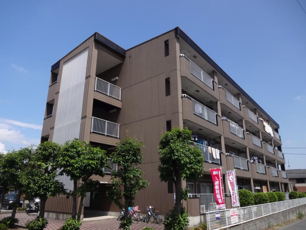 奈良県橿原市、金橋駅徒歩19分の築23年 4階建の賃貸マンション