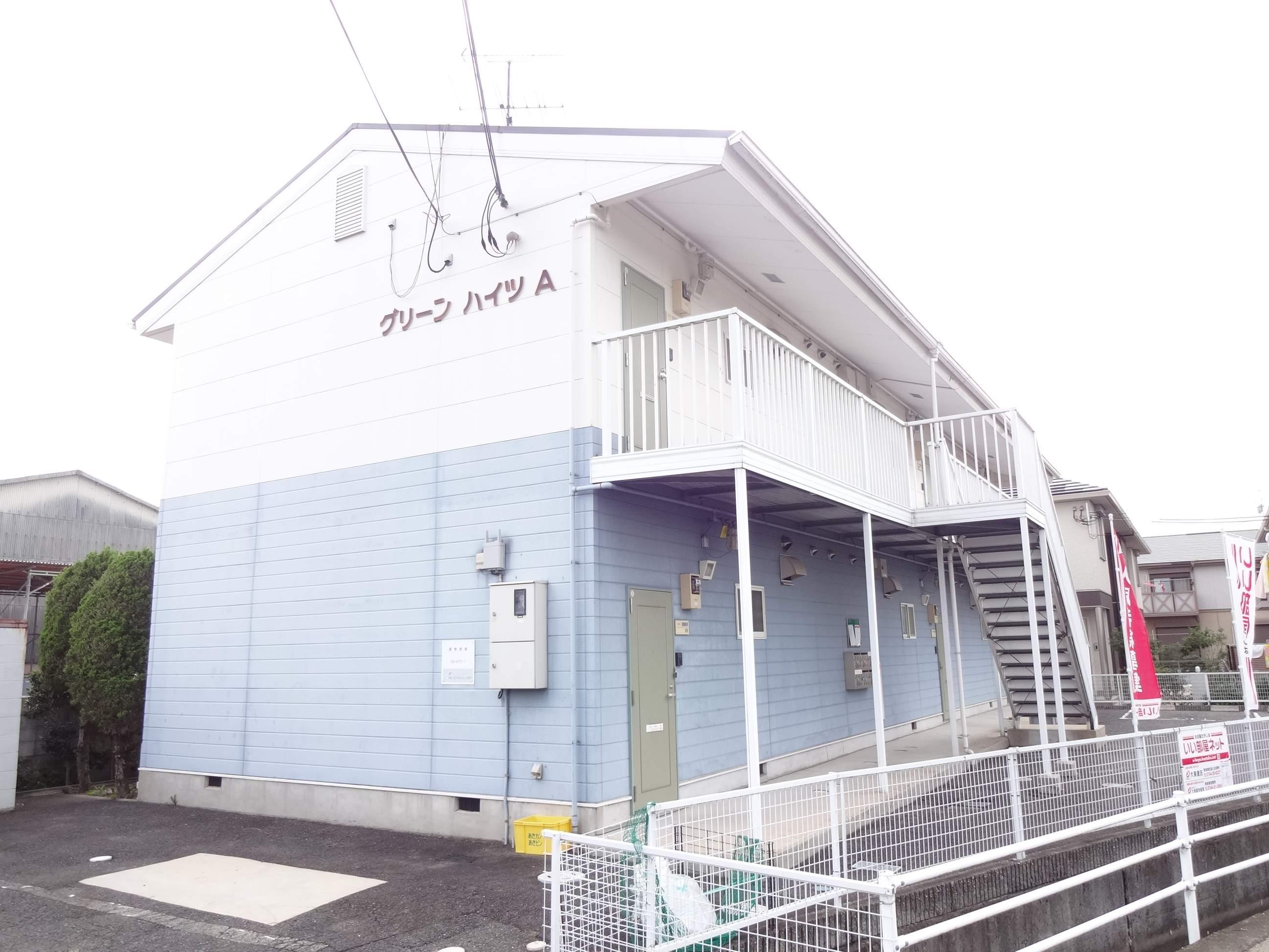 奈良県橿原市、金橋駅徒歩18分の築22年 2階建の賃貸アパート