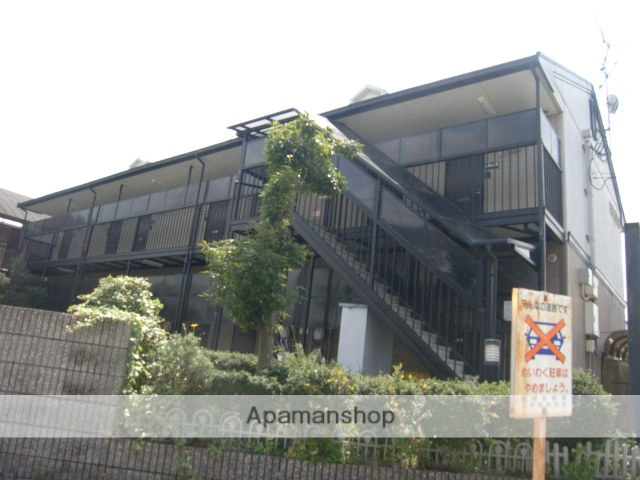 奈良県橿原市、畝傍御陵前駅徒歩7分の築20年 2階建の賃貸アパート