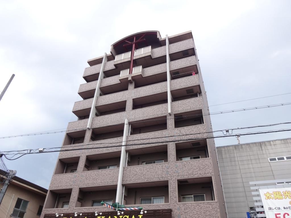 奈良県橿原市、橿原神宮前駅徒歩2分の築12年 8階建の賃貸マンション