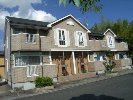 奈良県御所市、御所駅徒歩15分の築17年 2階建の賃貸アパート
