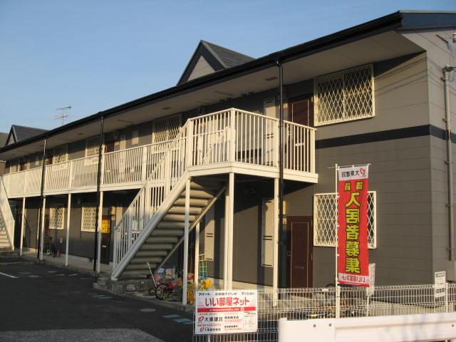 奈良県御所市、御所駅徒歩15分の築20年 2階建の賃貸アパート
