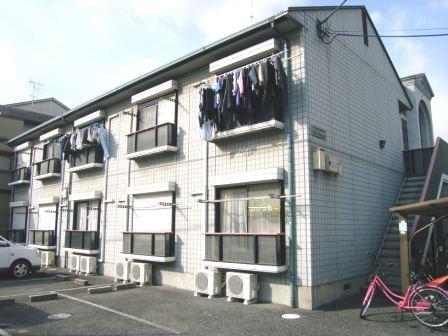奈良県大和高田市、高田市駅徒歩12分の築21年 2階建の賃貸アパート