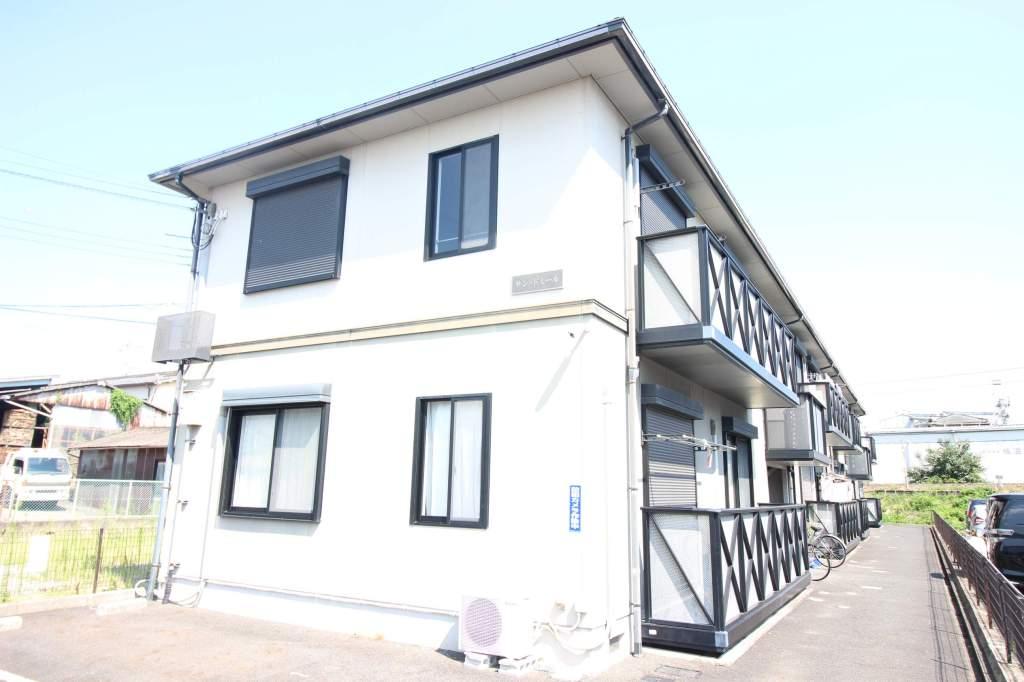 奈良県大和高田市、高田駅徒歩10分の築17年 2階建の賃貸アパート