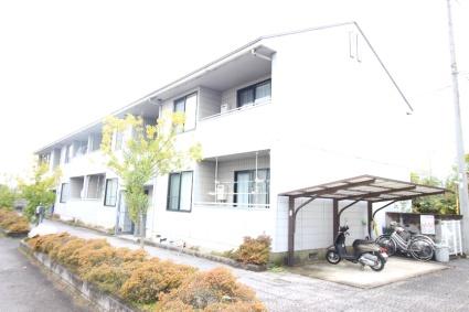 奈良県御所市、近鉄御所駅徒歩15分の築24年 2階建の賃貸アパート