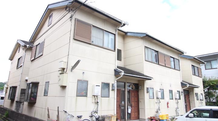 奈良県橿原市、橿原神宮西口駅徒歩5分の築24年 2階建の賃貸アパート