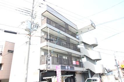 奈良県大和高田市、大和高田駅徒歩13分の築23年 4階建の賃貸マンション