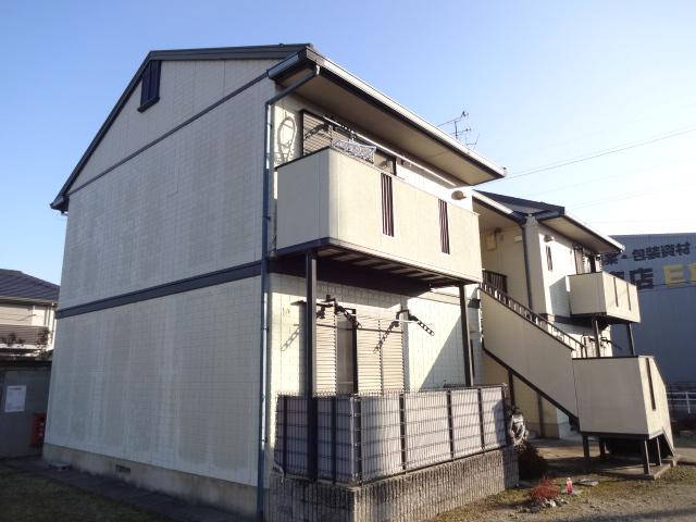 奈良県北葛城郡広陵町、箸尾駅徒歩10分の築22年 2階建の賃貸アパート