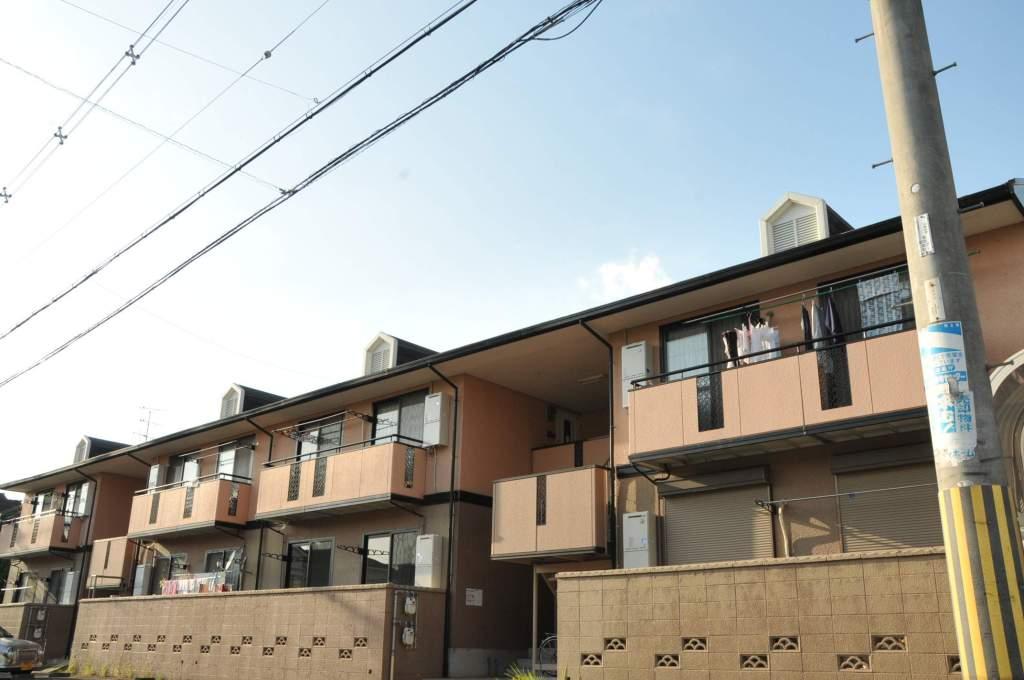 奈良県大和高田市、大和高田駅徒歩15分の築25年 2階建の賃貸アパート