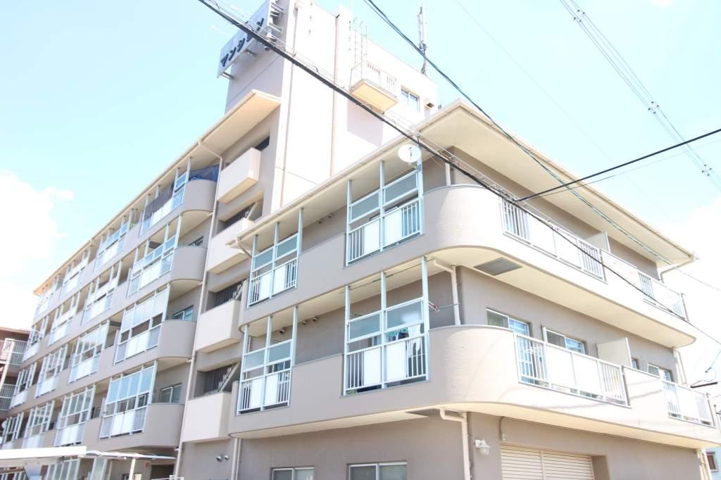 奈良県橿原市、坊城駅徒歩1分の築29年 5階建の賃貸マンション