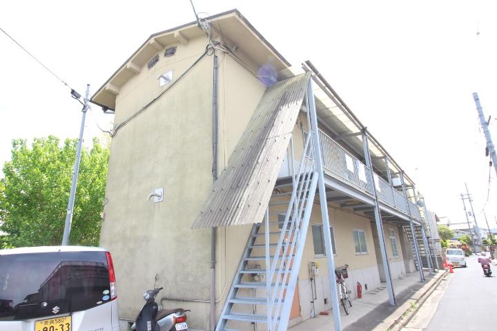 奈良県磯城郡三宅町、石見駅徒歩6分の築35年 2階建の賃貸アパート