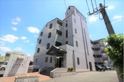 奈良県桜井市、桜井駅徒歩12分の築22年 4階建の賃貸マンション