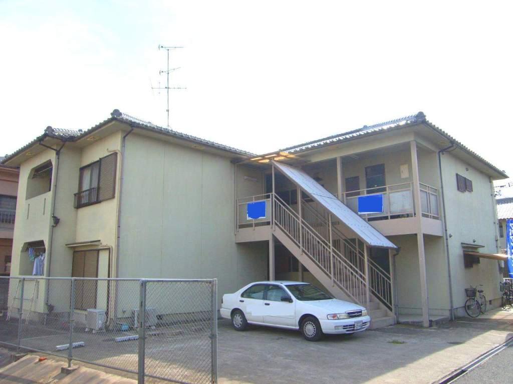奈良県橿原市、新ノ口駅徒歩3分の築22年 2階建の賃貸アパート
