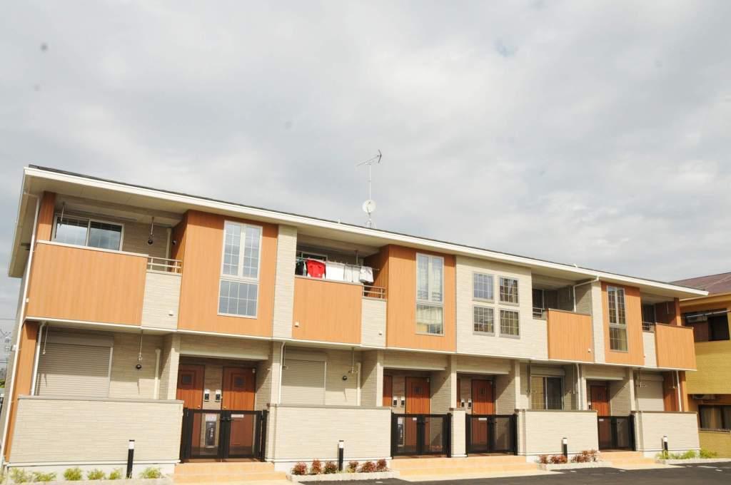 奈良県大和高田市、尺土駅徒歩14分の築4年 2階建の賃貸アパート
