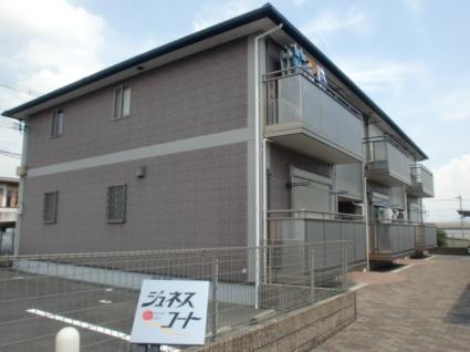 奈良県御所市、御所駅徒歩6分の築13年 2階建の賃貸アパート