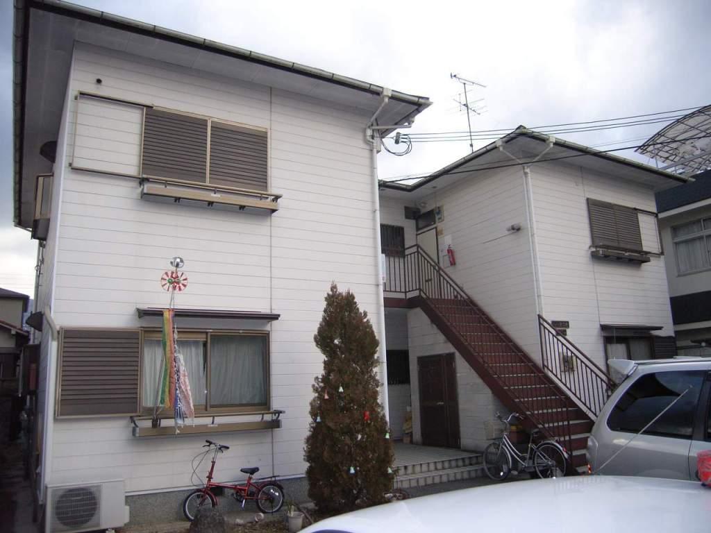 奈良県御所市、御所駅徒歩6分の築24年 2階建の賃貸アパート