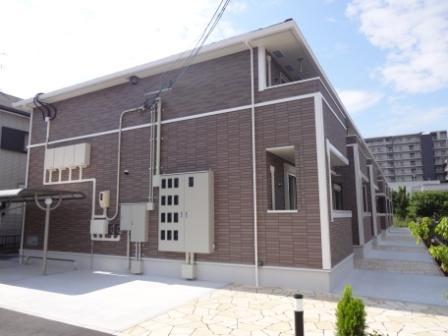 奈良県大和高田市、高田駅徒歩14分の築1年 2階建の賃貸アパート