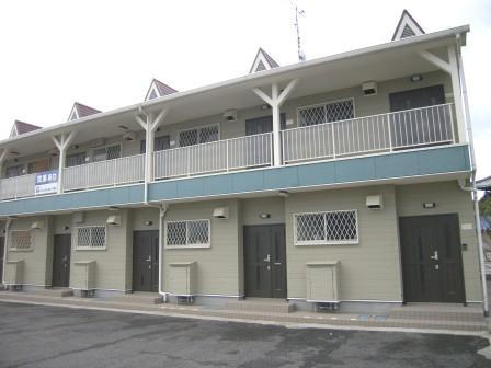 奈良県北葛城郡広陵町、築山駅徒歩10分の築11年 2階建の賃貸アパート