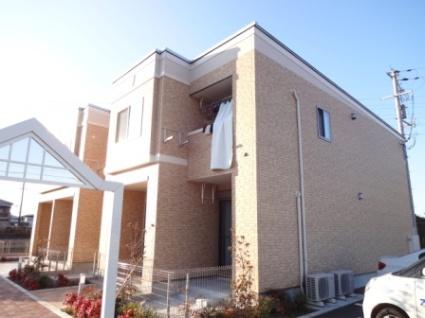 奈良県大和高田市、高田駅徒歩19分の築2年 2階建の賃貸アパート
