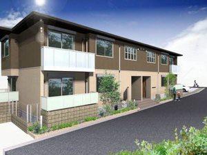 奈良県五條市、大和二見駅徒歩1分の築2年 2階建の賃貸アパート