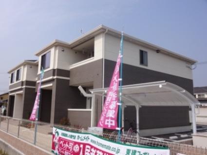 奈良県北葛城郡広陵町、箸尾駅徒歩13分の築1年 2階建の賃貸アパート