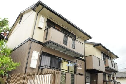 奈良県葛城市、尺土駅徒歩8分の築20年 2階建の賃貸アパート
