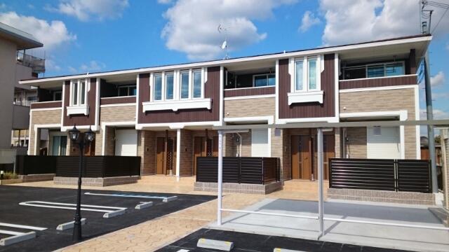 奈良県五條市、五条駅徒歩6分の新築 2階建の賃貸アパート