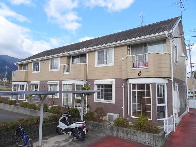 奈良県御所市、御所駅徒歩17分の築20年 2階建の賃貸アパート