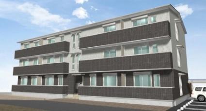 奈良県御所市、御所駅徒歩4分の新築 3階建の賃貸アパート