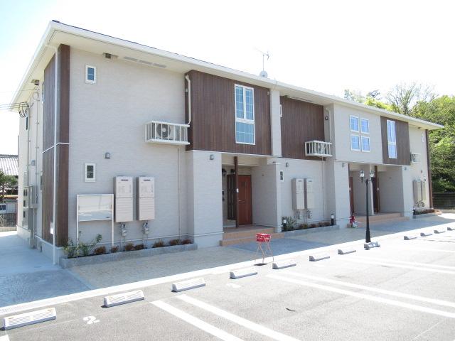 奈良県五條市、五条駅徒歩15分の新築 2階建の賃貸アパート