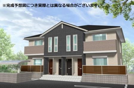 奈良県葛城市、当麻寺駅徒歩3分の新築 2階建の賃貸アパート