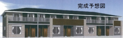 奈良県葛城市、尺土駅徒歩10分の新築 2階建の賃貸アパート