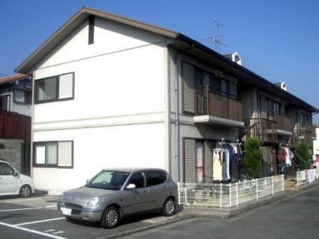 奈良県大和高田市、大和新庄駅徒歩23分の築24年 2階建の賃貸アパート