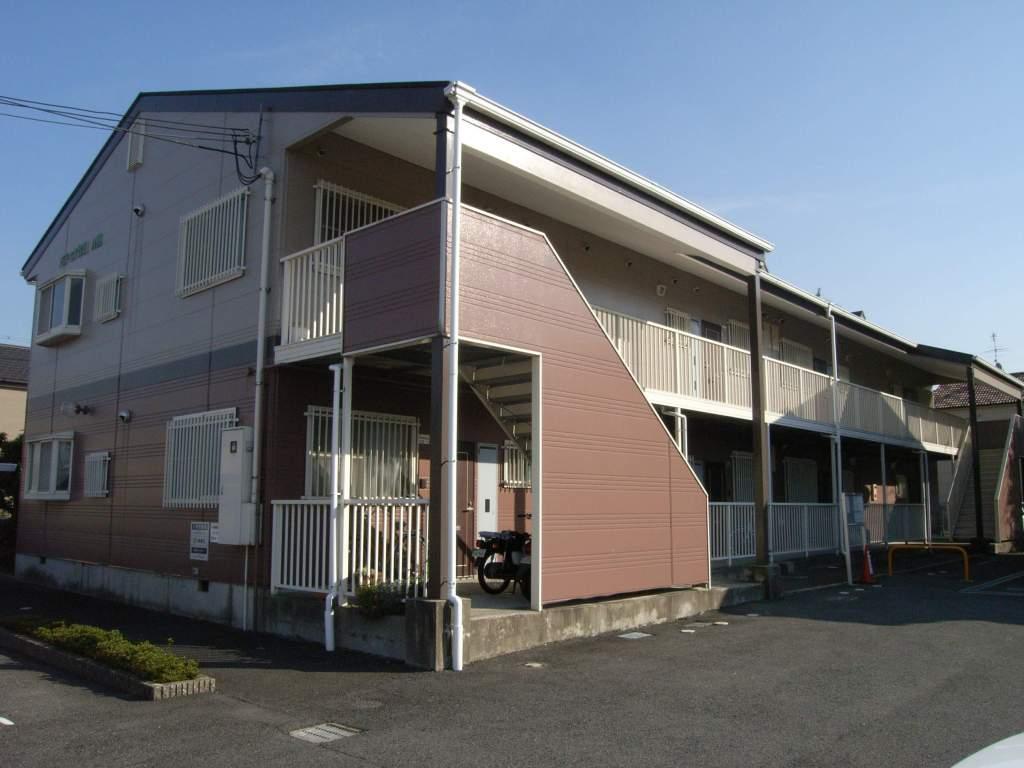 奈良県御所市、近鉄御所駅徒歩15分の築21年 2階建の賃貸アパート