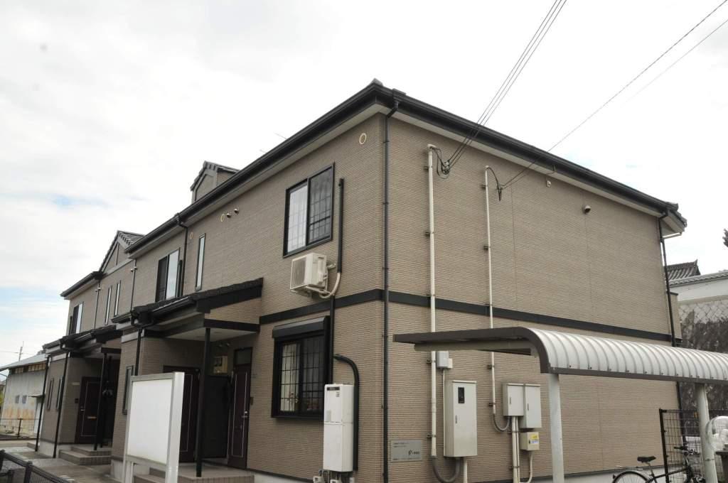 奈良県御所市、近鉄御所駅徒歩11分の築14年 2階建の賃貸アパート