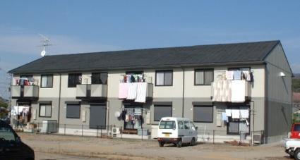 奈良県桜井市、三輪駅徒歩6分の築19年 2階建の賃貸アパート
