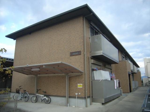 奈良県葛城市、忍海駅徒歩1分の築11年 2階建の賃貸アパート