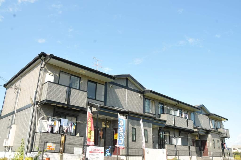 奈良県御所市、近鉄御所駅徒歩10分の築15年 2階建の賃貸アパート