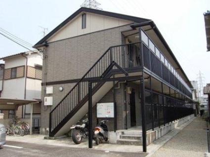 奈良県大和高田市、築山駅徒歩15分の築15年 2階建の賃貸アパート