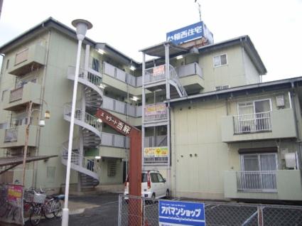 奈良県葛城市、尺土駅徒歩5分の築28年 4階建の賃貸アパート