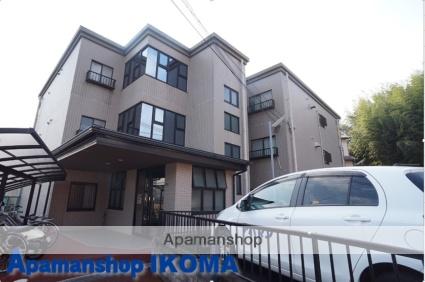 奈良県奈良市、富雄駅徒歩10分の築22年 3階建の賃貸アパート