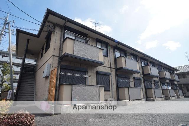 奈良県生駒市、生駒駅徒歩17分の築14年 2階建の賃貸アパート