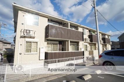 奈良県生駒市、生駒駅バス20分小瀬下車後徒歩20分の築4年 2階建の賃貸アパート